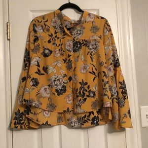 Mustard Yellow Love,Fire Blouse Nordstrom